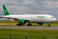 [CDG] Turkmenistan Boeing 777-200LR _ EZ-A778 (thibou1) Tags: thierrybourgain cdg lfpg spotting aircraft airplane nikon d7100 tamron sigma turkmenistan boeing boeing777 b777 b777200lr b772 eza778