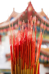 1T9A2833 (Victor Mitri) Tags: wooden woodensticks sticks flame red many boudest malaysia kl temple burning