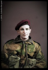 1st Canadian Parachute Battalion, from Birth to Combat (Chicken 62) Tags: canadian ww2 beret officer 1943 parachute