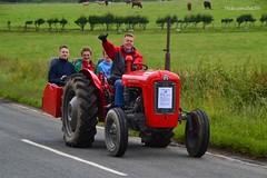 (Zak355) Tags: old tractor classic vintage scotland rally scottish tractors bute rothesay isleofbute masseyferguson roadrun butevintageclub