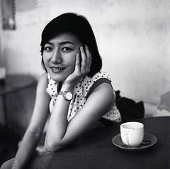 (Xingjian) Tags: coffee hasselblad500cm film kodaktrix