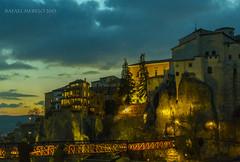 Atardece en Cuenca (Guervs) Tags: houses puente brigde cuenca worldheritage castillalamancha patrimoniodelahumanidad casascolgantes patrimoinemondiale