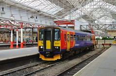 East Midlands Trains - 153357 (dgh2222) Tags: station class crewe 153 153357 1k12