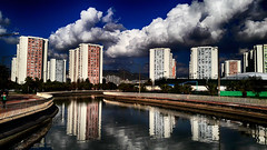 2016 bostanl yansmas (SONER DKER) Tags: trkiye izmir bostanl maviehir sunset deniz sea bulut cloud turkey turkei mygearandme saariysqualitypictures newvision peregrino27newvision outdoor