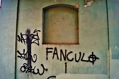 Fanculo... (BarbaraBonanno BNNRRB) Tags: sign written painting fuck fanculo marinadimassa massacarrara