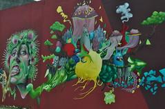 "Festival ""Shake Well"", juillet 2016, Bacalan, Bordeaux, Gironde, Aquitaine, France. (byb64) Tags: festival shakewell bordeaux burdeos 33 gascogne gascony gascona gasconha gironde gironda aquitaine aquitania akitania aquitanien france francia frankreich ue europe eu europa xxie 21th peinture painting streetart arturbain graff graffiti tag tags couleurs colors colori colores bacalan bassinsflots"