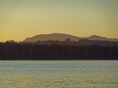 Levels I (elphweb) Tags: falsehdr fromakayak levels layers sunset colours mountains hills ranges ocean bay water sea