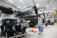 Two Classics (twm1340) Tags: ca museum 1932 psp flying airport air palmsprings b17 hoover studebaker boeing dictator bomber fortress b17g missangela n3509g