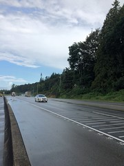 Ministry to install median barrier on Highway 7 in Maple Ridge (BC Gov Photos) Tags: mapleridge highway highway7 median transportationandinfrastructure transportation wet road