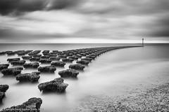 A Path To Follow (Dave Kiddle) Tags: david cloud davekiddle felixstowe groyne kiddle longexposure sea davekiddlephotography davidkiddle davidstephenkiddle