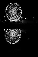 La grande roue (Bluefab) Tags: honfleur port roue nuit illumination distraction