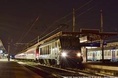 E402A 045 (MattiaDeambrogio) Tags: treno treni train trains e402 e402a 045 verona porta nuova euronight en 484