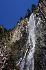 Palisades Falls (cavegraphics) Tags: hyalitecanyon montana bozeman palisadefalls columnarjointing waterfall