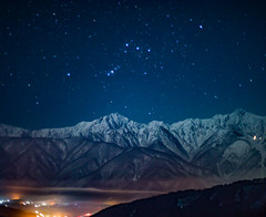 Winter night sky of the Northern Alps (shinichiro*) Tags:    jp 20160104ds22732 2016 crazyshin nikond4s planart1450zf   january winter   kashimayari