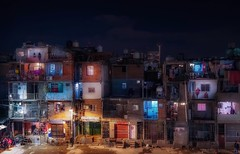 Special view (karinavera) Tags: travel nikond5300 urban night colors villa31 buenosaires argentina vista shantytown noche pobreza cityscape people town city