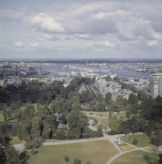 65: Rotterdam  Uitzicht Euromast 1961 (Steenvoorde Leen - 1.9 ml views) Tags: rotterdam 1961 euromast uitzicht panorama