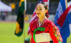 Korean Festival (Bill Anderson :-)) Tags: koreanfestival vangardstadium burnaby britishcolumbia dancer