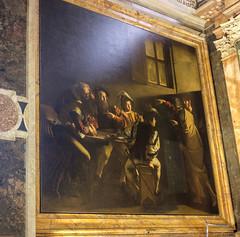 2016-07 Italy Rome 0030 (lmirante) Tags: callingofstmatthew caravaggio chiesadisanfrancese italy rome