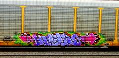 resa ONS (timetomakethepasta) Tags: resa ons freight train graffiti outlaws never surrender fart chanel