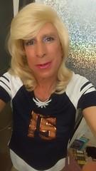 So ready...  (bevhills2) Tags: pink blond blonde trans tranny tgirl lovely