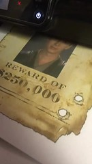 wanted (timp37) Tags: video star wars sign anakin skywalker wanted