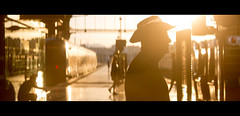 6:22am Marseille to Paris (James Yeung) Tags: anamorphic kowa france marseille sunrise flare light cinematic hat movie