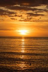 Sun over sea (Seahorse-Cologne) Tags: tretat dpartementseinemaritime regionnormandie normandie sonnenuntergang sunset