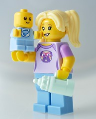 Babysitter 71013 (aktuaroslo) Tags: lego 71013 babysitter collectableminifigures minifigure minifig