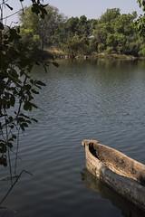 Boat on the Zambezi (XNBZ) Tags: zambia zambezi africa zambeziriver