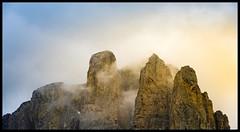 Dolomite & fog (ELtano86) Tags: eltano86 dolomite dolomites dolomiti fog foggy foschia nebbia nebbiosa neblina