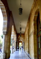 entrance (Gabriella Sunshine) Tags: france lebanon beirut ambassade embassy residence french