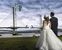 Wedding (Photography by Peter Stanford) Tags: wedding forth queensferry bridge crossing bride groom