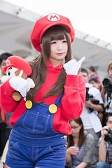 P63_009 (ms09Dom) Tags: cosplay コスプレ マリオ pf22 五木あきら itsukiakira