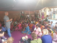 Engaging villagers in biodiverse thinking