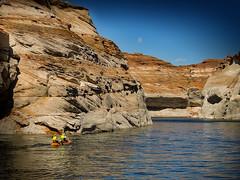 Lake Powell (grace.aries) Tags: blue arizona usa america nikon rocks page coloradoriver coolpix lakepowell glencanyon p520 wahweapbay