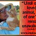 Until one has loved...