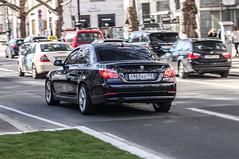Russia (St. Petersburg) - BMW 530i E60 (PrincepsLS) Tags: berlin st germany russia plate petersburg license bmw russian spotting 178 530i