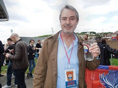 Neil Morrissey (Paul-M-Wright) Tags: park london beer festival 30 crystal morrissey may saturday neil palace actor fc 2015 cpfc selhurst