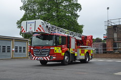GN15DMX (Emergency_Vehicles) Tags: rescue station fire kent turntable service ladder 92 maidstone 192 magirus gn15dmx