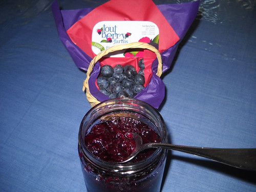 Tout Berry Blueberry Home Made Jam a May 10, 2014