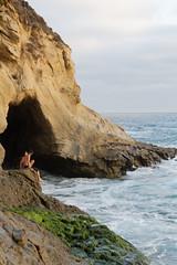 B03A3047_DxO (Estebahn De Peschruse) Tags: ocean california sunset sea beach sand surf pacific surfing cave lagunabeach 1000stepsbeach canon5dmarkiii thousandstepsbeach