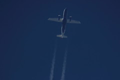 OY-NCN (Rob390029) Tags: travel blue sky sun train plane flying high contrail top aircraft aviation air transport flight over jet trails 328 civil transportation scandinavia airborne contrails sus civilian dornier trailing 328jet oyncn j328