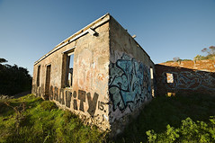 Ruins (Macr1) Tags: architecture building builtenvironment d700 day dilapidated dwelling graffiti munster nikon nikond700 outdoor ruins samyangf2814mmedasifumc structure sunny urbandecay