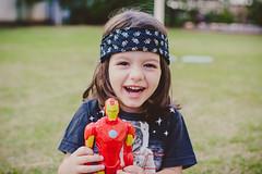Iron Man (Let's ROCK, baby!) Tags: baby boy bebe menino kid kiddo child toddler fun diverso criana iron man homem ferro playing toy brinquedo brincando