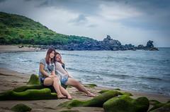 LCT_5982 (Eric LCT) Tags: taiwan taipei girl nikon 50mm f14d asia portrait sea
