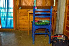 Reading Table Chair in Cottage (wandercrumbs) Tags: reading table chair cottage samarpan guesthouse auroville beach pondicherry puducherry