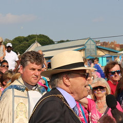 Lord Mayor of Canterbury - Whitstable Oyster Festival 2016 (timothyhart) Tags: oyster festival 2016 whitstable kent herne bay thamesestuary england uk tradition tressle