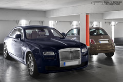 Rolls-Royce Ghost (Alexandre Prvot) Tags: european cars automotive automobile exotics exotic supercars supercar worldcars nancy lorraine france 54 54000 auto car berline sport voiture route transport dplacement parking luxe grandestsupercars ges meurtheetmoselle