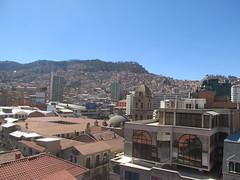 """La Paz: vue de notre chambre <a style=""""margin-left:10px; font-size:0.8em;"""" href=""""http://www.flickr.com/photos/127723101@N04/27984995973/"""" target=""""_blank"""">@flickr</a>"""