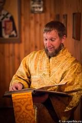 Божественная литургия в пос.Котово 145
